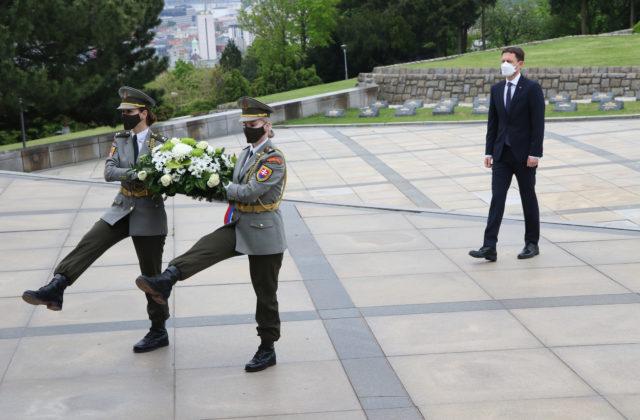 Heger si pripomenul ukončenie 2. svetovej vojny, mier podľa neho nesmie zovšednieť