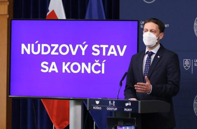 Na Slovensku sa od soboty končí núdzový stav, Heger označil jeho zrušenie za víťazstvo nás všetkých (video)