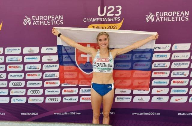Letná olympiáda v Tokiu (atletika): Emma Zapletalová postúpila do semifinále na 400 m prekážok