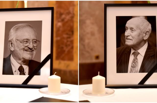 Môžete sa podpísať do kondolenčných kníh na pamiatku Lasicu a Kubánku, nájdete ich v budove ministerstva