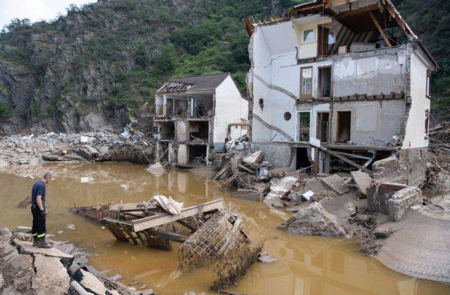 Nemecká vláda vynaloží na pomoc ľuďom postihnutým ničivými povodňami štyristo miliónov eur