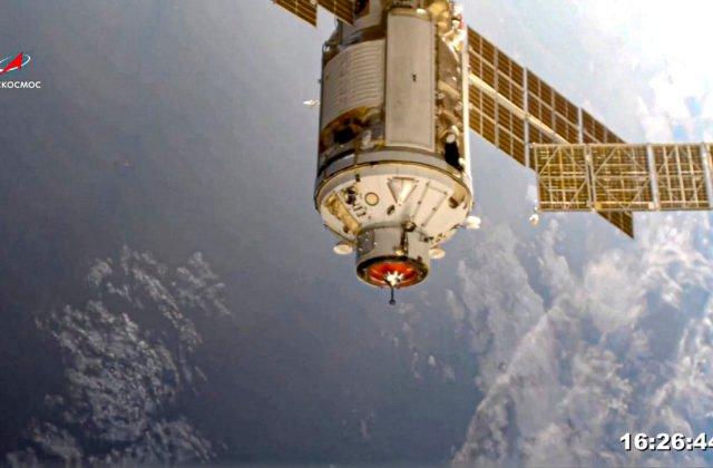 Rusi vysvetlili incident s modulom Nauka, na vine vraj bolo krátkodobé zlyhanie softvéru (video)