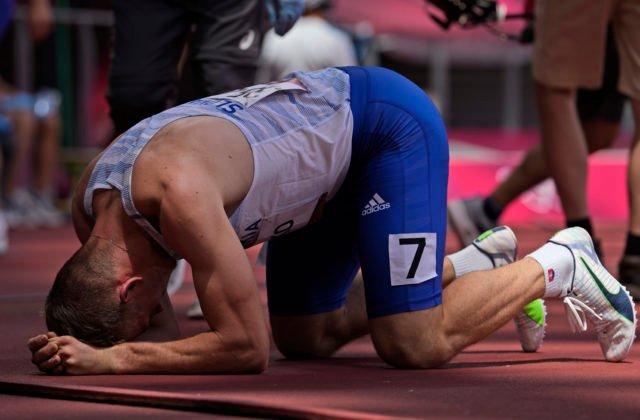 Letná olympiáda v Tokiu (atletika): Ján Volko v rozbehu na 200 m zabojuje o semifinále