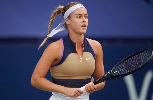 Schmiedlová hladko porazila na turnaji WTA Kužmovú, do ďalšieho kola v Rumunsku postúpila aj Kučová
