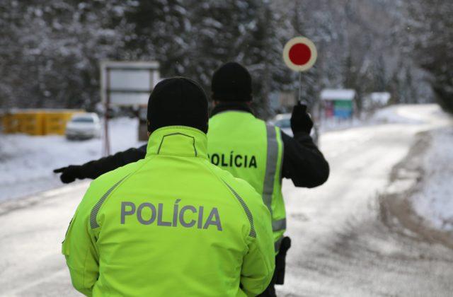 Vodiča nákladiaku zadržala policajná hliadka, muž uviedol cudzie meno a pokúsil sa o útek