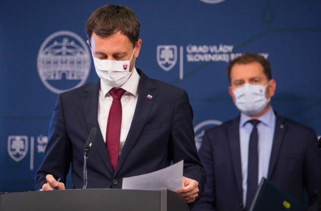 Na Slovensku sa kradlo ako po nebohom, Matovič výslednú podobu rozpočtu hodil na SaS