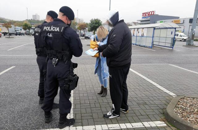 Policajti kontrolujú dodržiavanie opatrení, od nového roka evidujú viac než desaťtisíc priestupkov