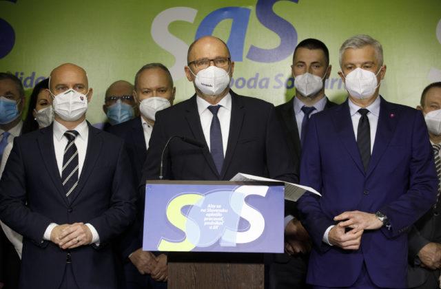 Strana SaS reaguje na vyhostenie ruských diplomatov z Česka, požaduje zvolať Bezpečnostnú radu SR