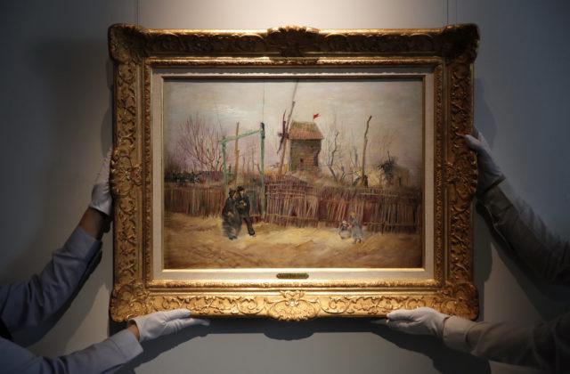 Vzácny obraz Vincenta Van Gogha vydražili v Paríži za vyše trinásť miliónov eur