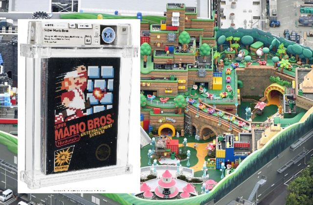 Na aukcií v Dallase sa podarilo vydražiť kópiu hry Super Mario Bros za 660-tisíc dolárov