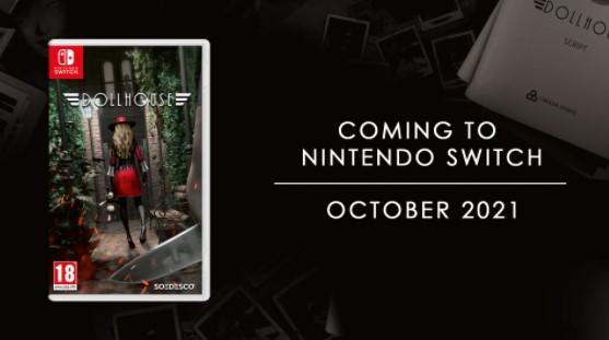 Psychologická hororová hra Dollhouse prichádza na Nintendo Switch v októbri