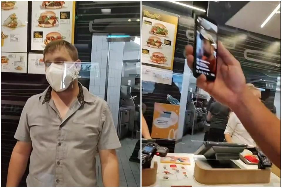 V českom McDonalde nechceli obslúžiť zákazníkov bez rúška: V predajni to vrelo(VIDEO)