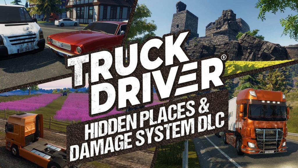 "Truck Driver® poskytuje zadarmo DLC na Nintendo Switch ™ Po PlayStation®4 a Xbox One je teraz na konzole Nintendo Switch k dispozícii DLC ""Hidden places & Damage System"""