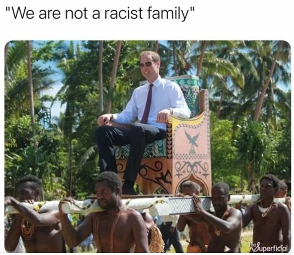 Reakcia na rozhovor Meghan o rasisme v kráľovskej rodiny :D
