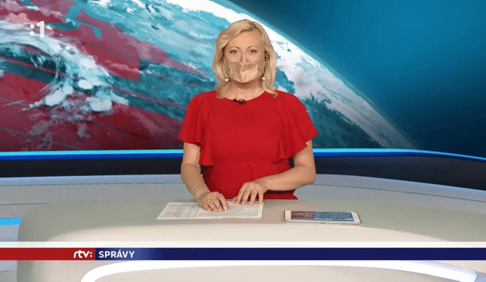 Moderátorka RTVS urobila v závere správ niečo, čo nikto nečakal! Myslela si, že kamery sú už vypnuté