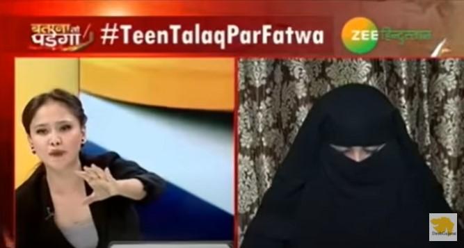Moslimský duchovný začne počas diskusného programu mlátiť ženu v priamom televíznom prenose